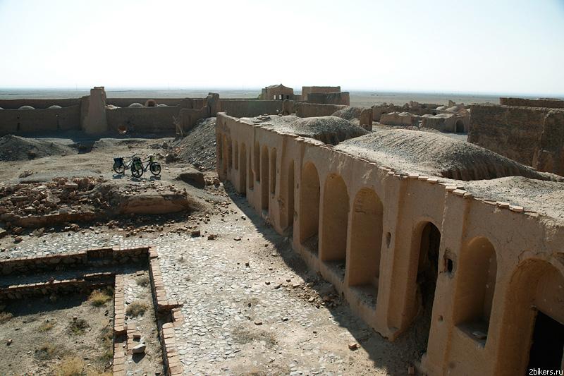 Abandoned caravanserai
