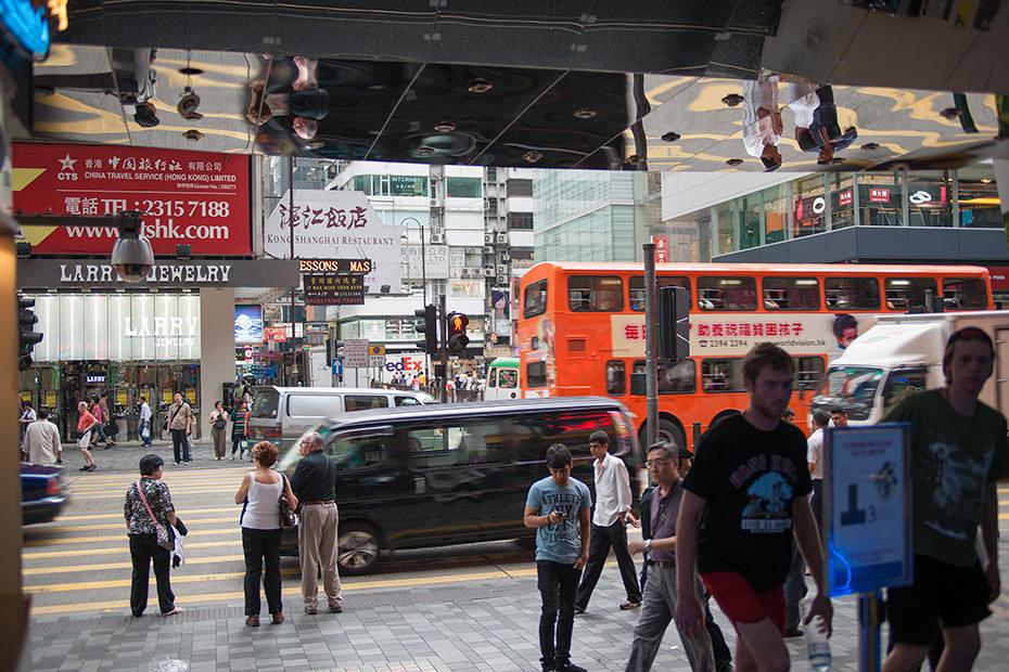 Неглянцевый Гонконг