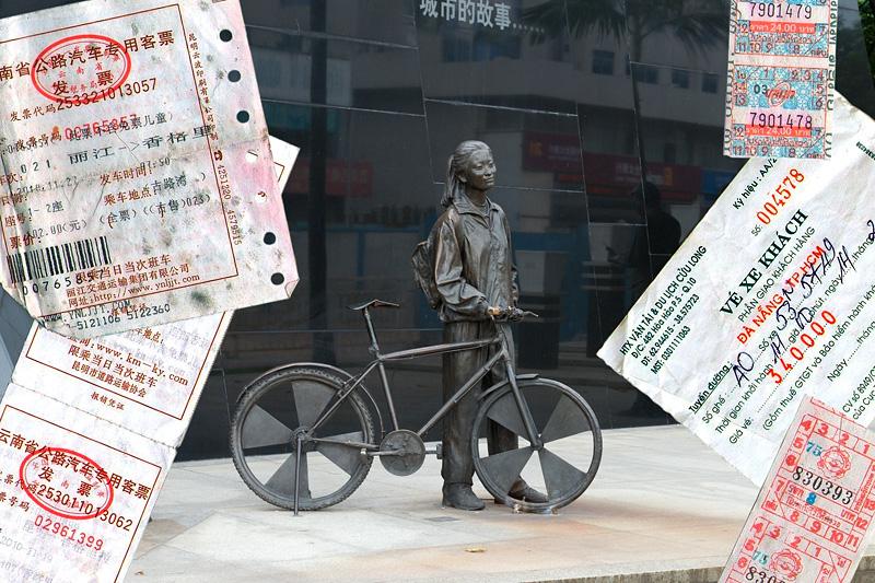 Транспортировка велосипедов и заброски в пути
