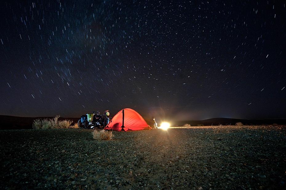 Наше туристическое оборудование: палатка