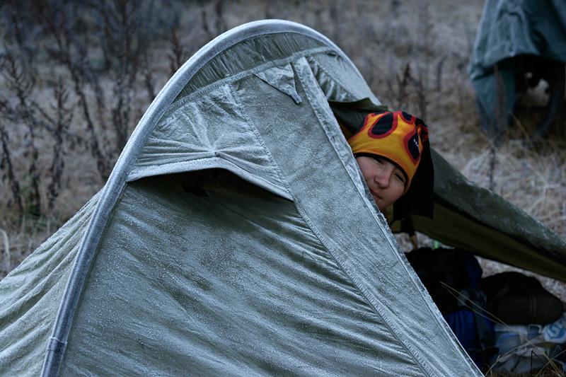 Делаем идеальную палатку