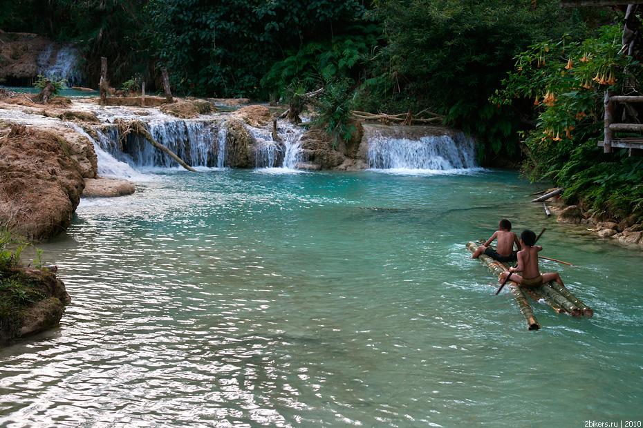 Поиски Лаоса в сельской местности и джунглях