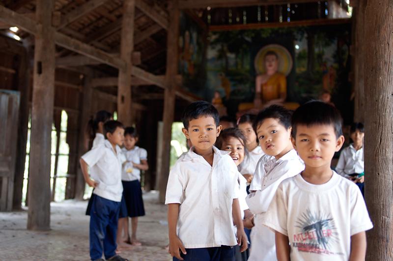 Камбоджийские портреты